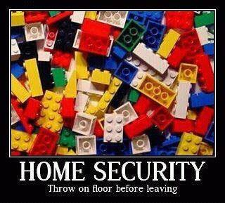 Lego Home security